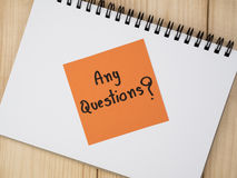 Questions Busniess concept 34 Stock Images