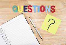 Questions Busniess concept 11 Royalty Free Stock Image