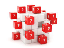 Questions concept Royalty Free Stock Image