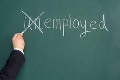 Questions de recrutement ou d'emploi. Image stock
