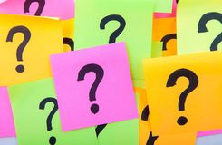Questions or decision making concept Royalty Free Stock Photography