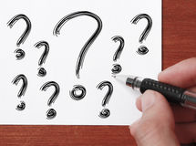 Questions Stock Image