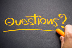 Questions Stock Photo