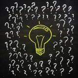 Questions and Idea Concept Stock Photos