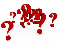 Questions over Questions Stock Photography