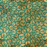 Questions. Seamless pattern. Royalty Free Stock Photography