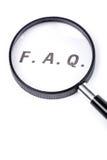 Questions souvent posées photos libres de droits