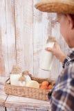 Questo alimento biologico vi porterà la salute Fotografia Stock Libera da Diritti