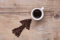 Questo modo al caffè? Immagini Stock Libere da Diritti