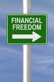 Questo modo a libertà finanziaria Immagine Stock