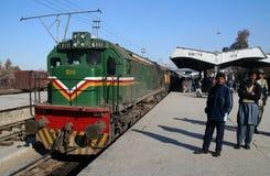 Quetta-Bahnstation Lizenzfreie Stockfotos
