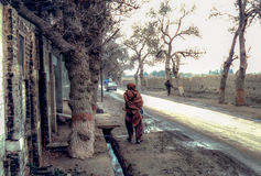 Quetta, Pakistan. An old photo from the 80s of Quetta in Pakistan Royalty Free Stock Images