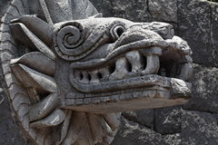 Quetzalcoatl royalty free stock photography