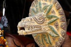 Quetzalcoatl IV royalty free stock photos