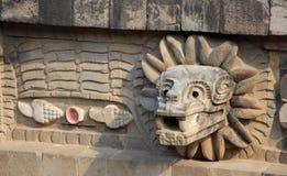 Quetzalcoatl stock photography