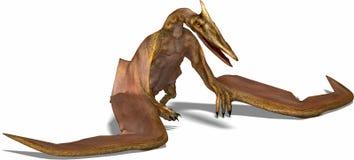 Quetzalcoatlus Imagens de Stock