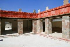 Quetzalpapalotl-Palast II, teotihuacan Lizenzfreies Stockfoto