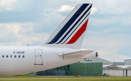 Queue d'Air France Airbus A320 Photographie stock libre de droits
