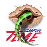 Queue de reptiles Photographie stock libre de droits