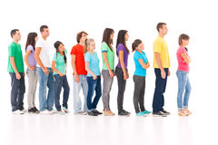 In the Queue Stock Photography
