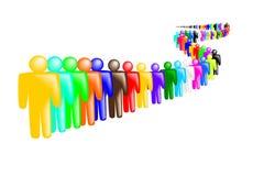 Free Queue Of People Stock Photo - 22865130