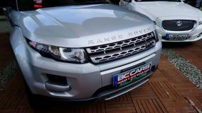 Range rover evoque at Sportline Magazine Auto Show
