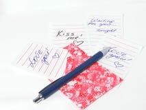 Quiérale las notas Fotografía de archivo libre de regalías