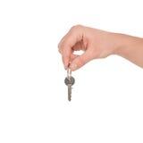Qui è la chiave. Fotografia Stock
