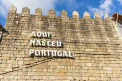 Qui era il Portogallo nato fotografia stock libera da diritti