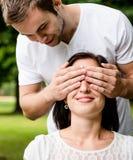 Qui est-il ? - jeune style de vie de couples Photos libres de droits