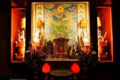 Qui Jin Mazu Temple em Kaohsiung Fotografia de Stock