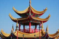 Qui Ming Palace em Lotus Lake Foto de Stock Royalty Free