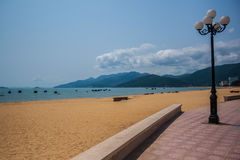 Qui Nhon beach Royalty Free Stock Photography