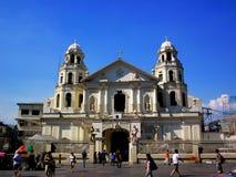 Quiapo church in quiapo, manila, philippines Stock Photos