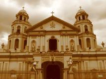 Quiapo Kirche stockfotografie