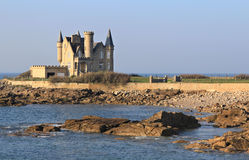 Quiberon castle detail Royalty Free Stock Image