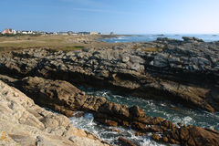 Quiberon coast Royalty Free Stock Image