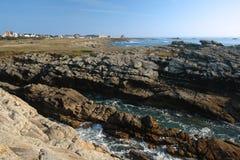 Quiberon coast Royalty Free Stock Image