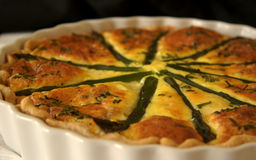 Quiche Photo stock