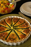 Quiche Photos stock