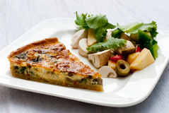Quiche Royalty Free Stock Photography