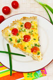 quiche Royaltyfri Foto