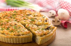 quiche Obrazy Royalty Free