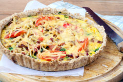 Quiche Royalty Free Stock Photo