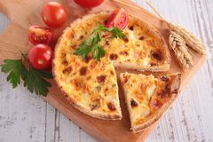 Quiche Stock Photography