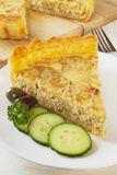 Quiche d'oignon Images stock