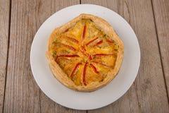 Quiche de paprika Image stock