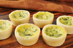 Quiche Florentine Royalty Free Stock Image