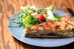 Quiche (food from france) Stock Photos