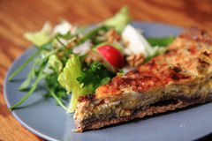 Quiche (food from france) Stock Images